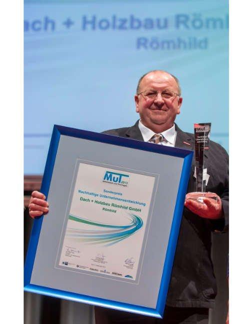 Albrecht Klopf -Verleihung des MuT-Preises 2013